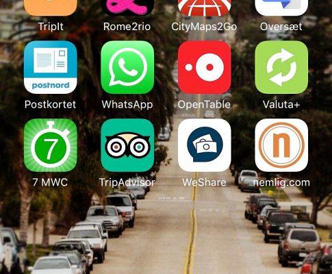 De 12 bedste apps til ferien